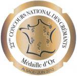 récompenses Concours national des Crémants
